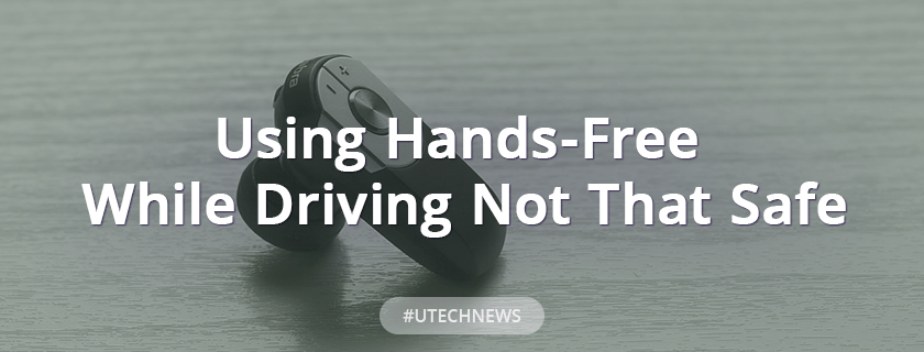 Using hands-free while driving not that safe