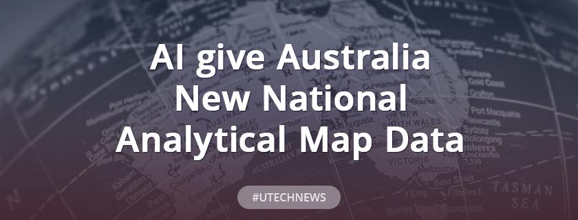 AI give Australia new national analytical map data