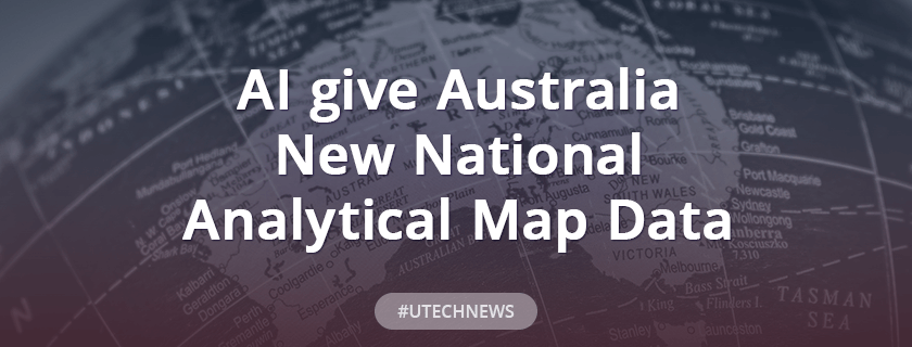 AI give Australia new national analytical map data