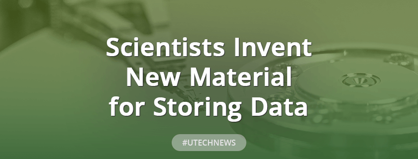 Scientists invent new material for storing data