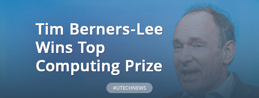 Tim Berners-Lee wins top computing prize