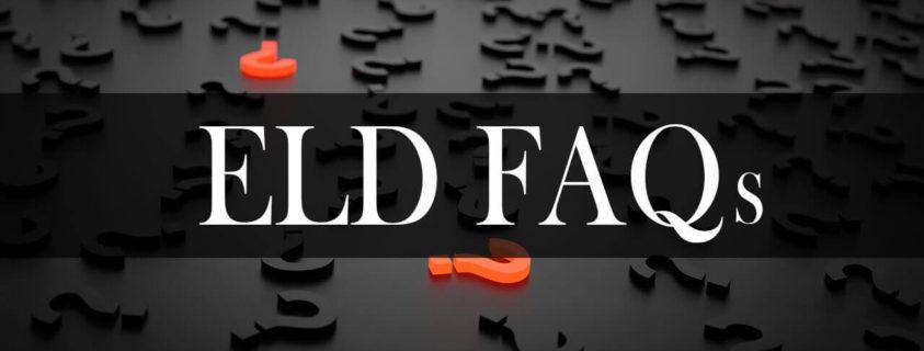 ELD FAQ by Utech