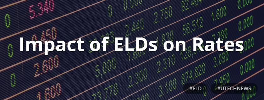 Impact of ELDs on Rates utech news