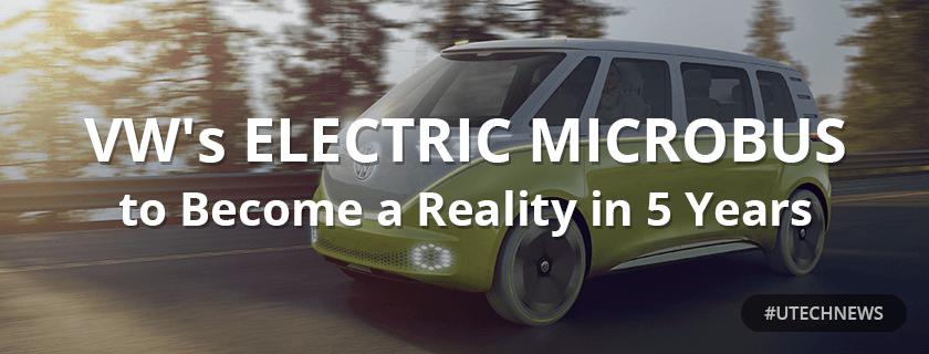 VW electric minibus utech news