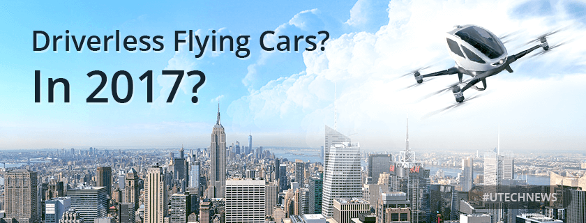 Driverless Flying cars utech news