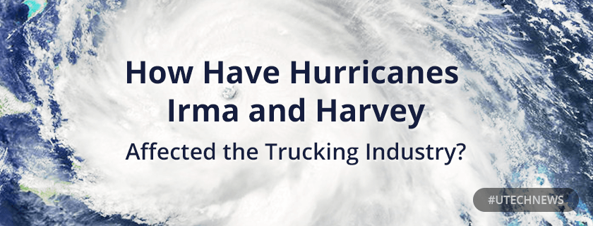 Impact of Hurricanes on truckin industry utech news