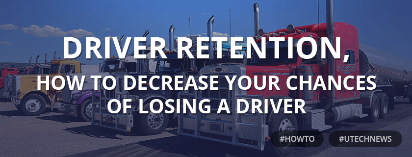Driver retention utech news