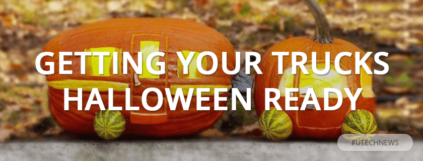 Trucks for halloween utech news