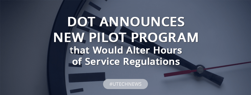 DOT announces new pilot program