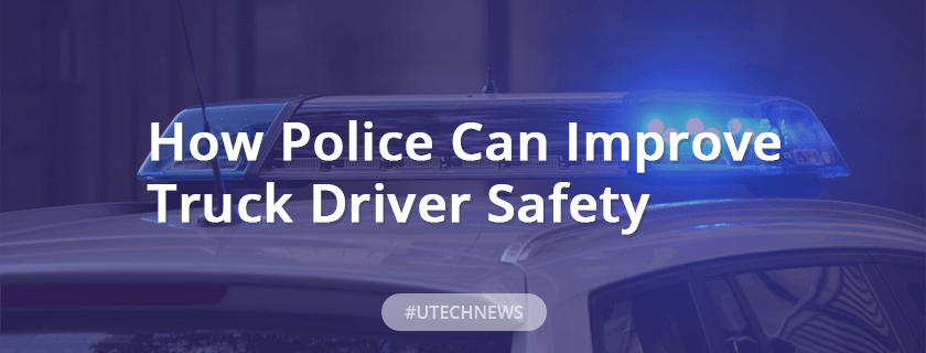 Truck driver safety utech news