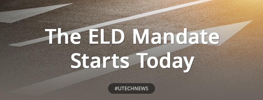 ELD mandate starts today