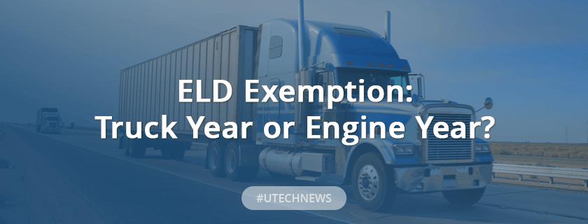 ELD exemption