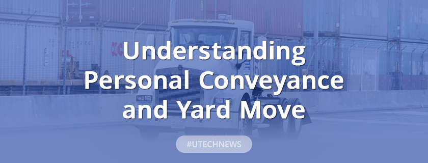 Personal Conveyance and Yard move