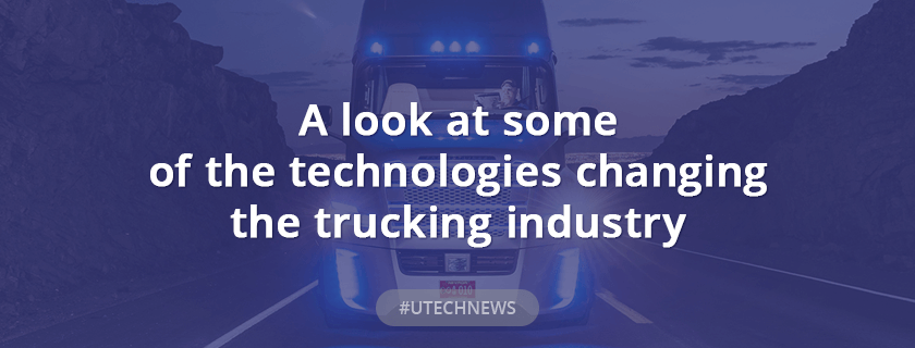 changes trucking technologies