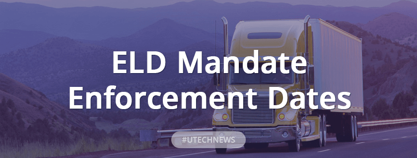 utech about ELD mandate enforcement dates