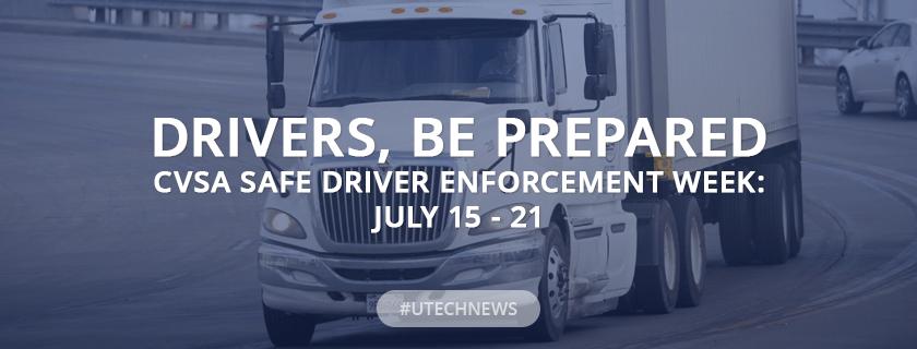 CVSA Safe Driver Enforcement