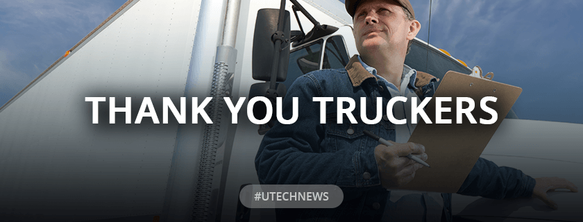 UTECH Thank You Drivers