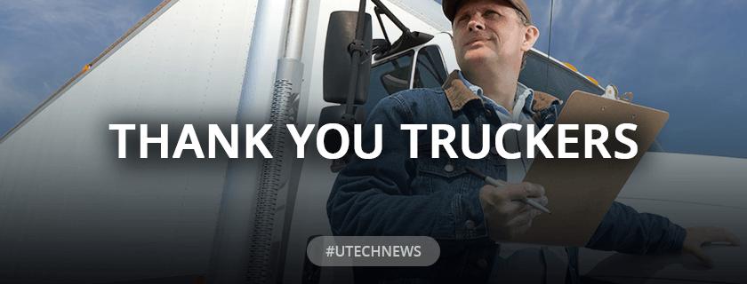 UTECH Thank You Drivers