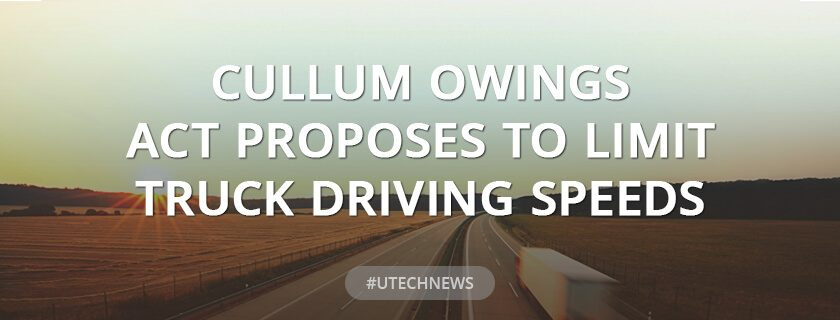Cullum Owings Act Proposes to Limit Truck Driving Speeds